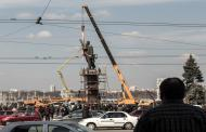 На Украине начался снос самого большого в стране памятника Ленину