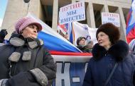 Доверие к Владимиру Путину вернулось в докрымское состояние