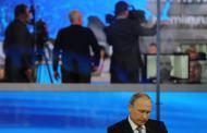 За три часа общения с гражданами Путин ответил на более, чем 55 вопросов