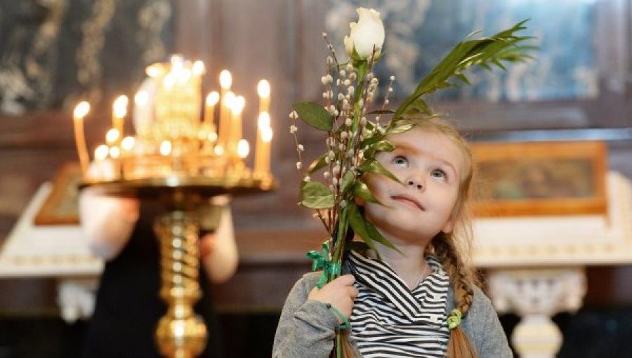 Православная Церковь празднует Вербное воскресение