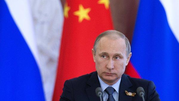 Лавров: визит Путина в Китай придаст мощный импульс партнерству стран