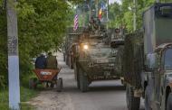 Военная техника НАТО покинула Кишинев на фоне протестов оппозиции