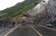 В Дагестане обвал заблокировал дорогу ГШВП