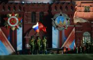 Парад Победы проходит в Москве