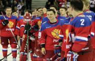 Хоккеисты сборной России обыграли команду Латвии в матче ЧМ в день 71-й годовщины Победы