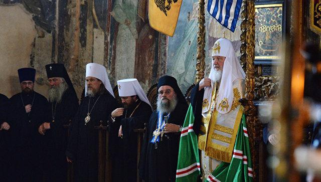 Патриарх Кирилл заявил, что РПЦ помогает разным народам, не получая выгоды