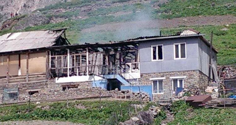 Прокуратура Чеченской Республики озвучила рассматриваемые версии пожара в доме Джалалдинова