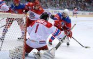 Путин забросил одну шайбу и помог команде выиграть в гала-матче Ночной хоккейной лиги