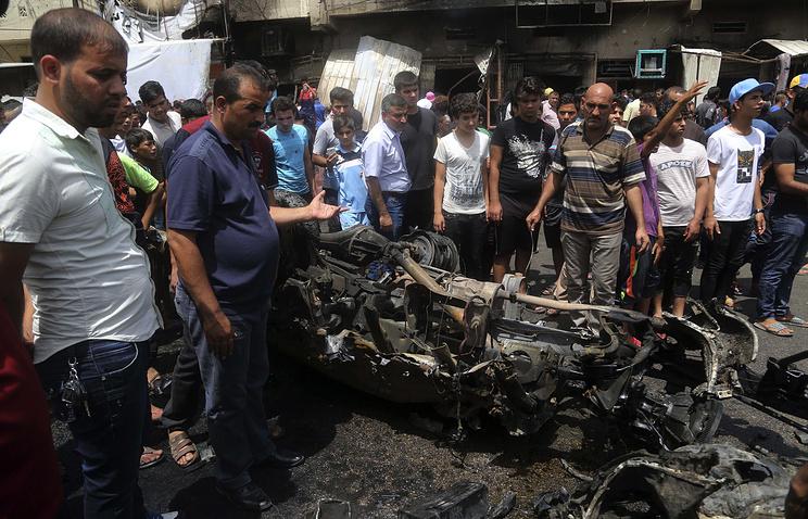 Жертвами трех взрывов в Багдаде стали почти 100 человек