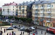 В Междуреченске Кемеровской области обрушился подъезд жилого дома