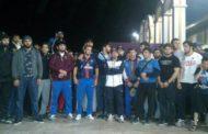 Встреча дагестанских борцов в аэропорту Махачкалы (видео)