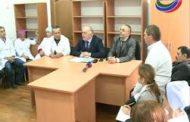 Уполномоченный главы РД снова посетил Рутульскую районную больницу
