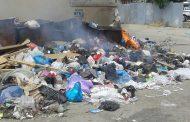 В Махачкале начались поджоги мусорных свалок