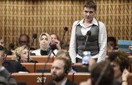 Савченко предложила поэтапно отменить санкции против России
