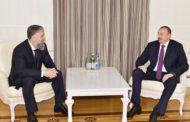 Президент Ильхам Алиев принял личного представителя главы Чеченской Республики