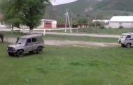 В сеть попало видео неудачной погони полиции в Дагестане