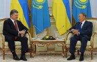 Порошенко и Назарбаев договорились координировать позиции в СБ ООН