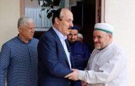 Рамазан Абдулатипов встретился в Буйнакске с Устазом Арсланали-хаджи Гамзатовым