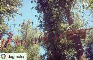 Минмолодежи Дагестана провело мероприятие в веревочном парке