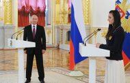 Исинбаева заплакала на встрече с Владимиром Путиным. ВИДЕО