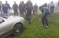 Жители Дагестана спасли водителя из пропасти по WhatsApp (Видео)