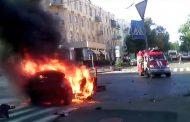 Опубликовано видео момента взрыва автомобиля, в котором находился Шеремет