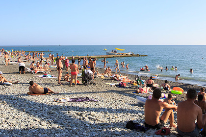 пляж сочи фото 2016