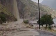Разрушительный сель обрушился в Дагестане на автодорогу «Чалда — Карадах» (Видео)