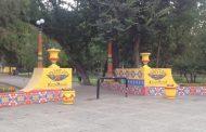 Сквер дружбы в Махачкале окрасился в цвет расставания
