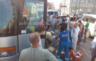 Умерший за рулем туристического автобуса дагестанец стал участником крупного ДТП в Астрахани