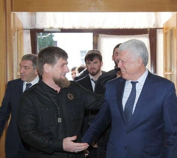 Рамзан Кадыров поздравил с днем рождения Хизри Шихсаидова