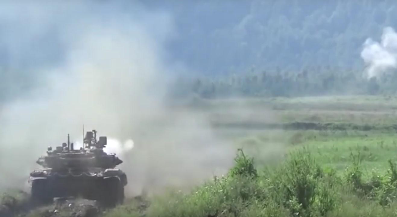 В России продолжаются широкомасштабные военные учения