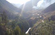 Хроника пожара в селении Мокок | Фото и видео