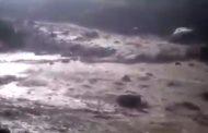 Десятки автомобилей смыло селем в Шамильском районе Дагестана (Видео)