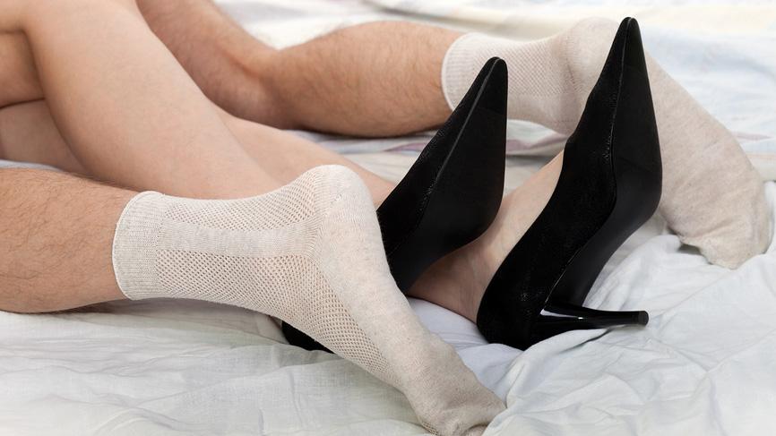 Секс белые носки ножки фото 66119 фотография