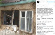 В соцсети попало фото полуразрушенной школы предположительно расположенной в Хасавюрте