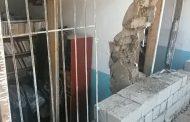 Стена в аварийной школе в Хасавюрте все-таки обвалилась