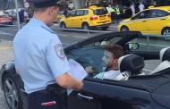 Мажор на кабриолете унизил полицейского и скрылся в Москве (Видео)