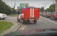 Алексей Навальный: Кандидат от ЕР приезжает на встречи с избирателями на пожарной машине