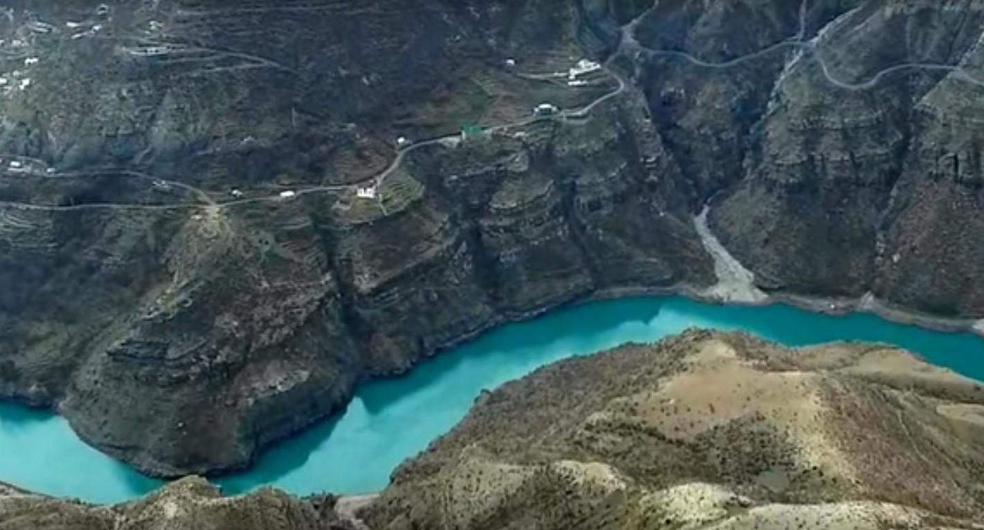 Экстремальный водный отдых в дагестанских горах