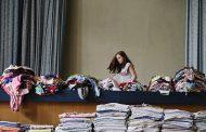Две тонны одежды собрали в Грозном для погорельцев Мокока