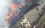 Уроженцы Цунтинского района объявили сбор средств для восстановления сгоревшего села Мокок