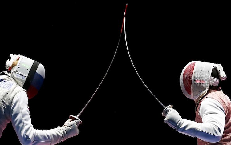 Мужская команда по фехтованию принесла России пятую золотую медаль