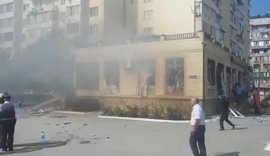 Число пострадавших при взрыве в Махачкале возросло до 23 человек (Видео)