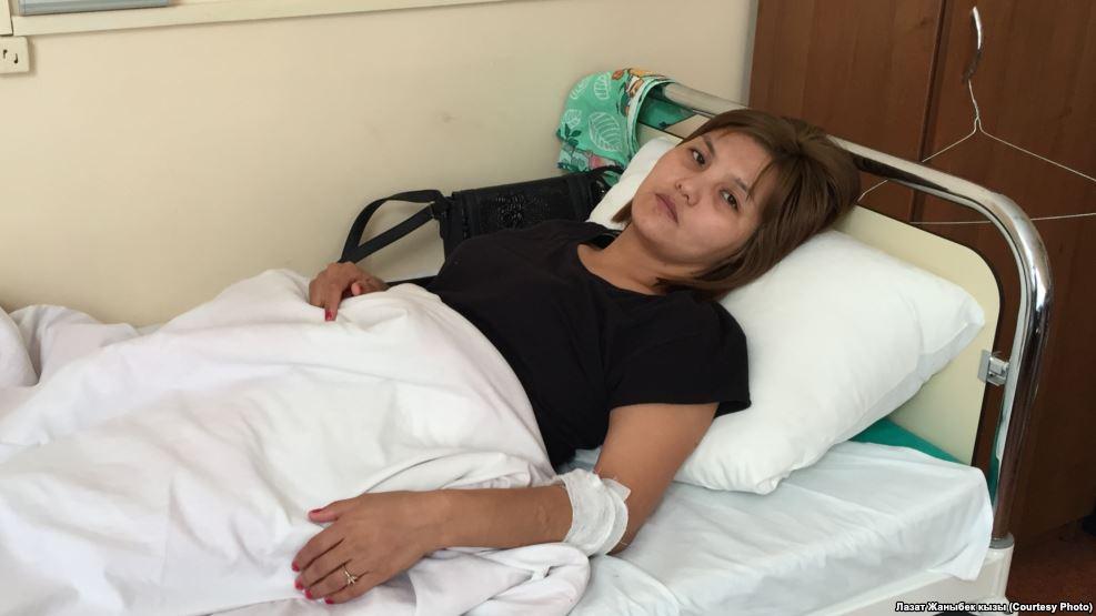 В России в отношении избитой милиционерами кыргызстанки возбудили уголовное дело