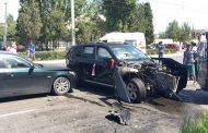 Пять автомобилей столкнулось в Каспийске | Видео
