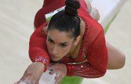 Американская гимнастка Райсман выступила на Олимпиаде под