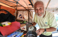 Пенсионер из Китая доехал до Бразилии на велосипеде, чтобы посмотреть Олимпиаду