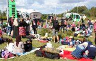 В Бресте второй день подряд стоит стихийный лагерь беженцев из Чечни (фото)