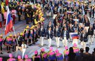 В Олимпийской деревне сорвали российские флаги